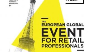 Logo of the 2017 edition of the Paris Retail Week