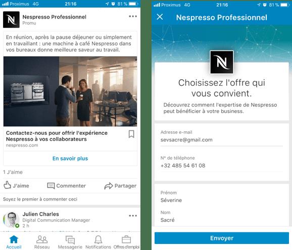 Nespresso professional campaign 2018