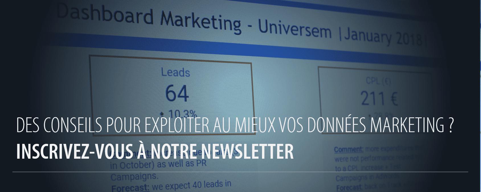 Universem : tirez le meilleur parti de vos données marketing